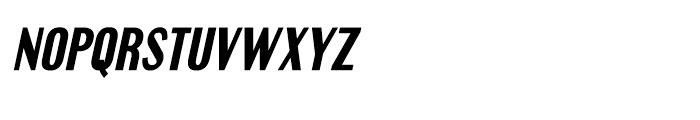Engebrechtre Bold Italic Font LOWERCASE