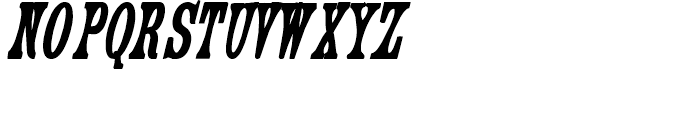 Engel Bold 3 Font UPPERCASE
