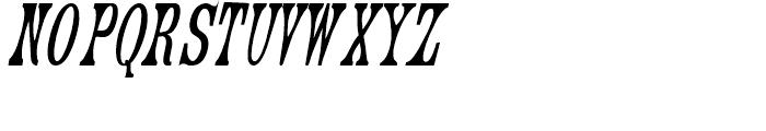 Engel Regular 3 Font UPPERCASE