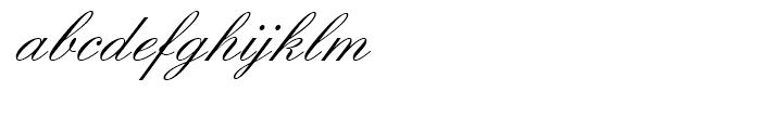 Englische Schreibschrift Regular Font LOWERCASE