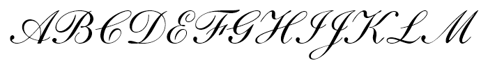 English 111 Adagio Font UPPERCASE