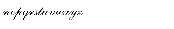 English 111 Adagio Font LOWERCASE