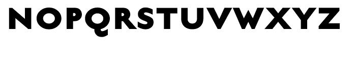 English Grotesque Extra Bold Font UPPERCASE