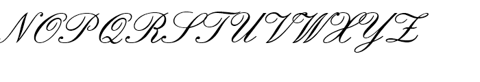 English157 BT Regular Font UPPERCASE