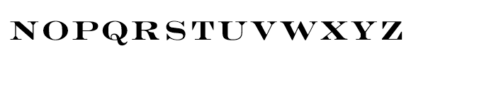 Engravers Bold Face Font LOWERCASE