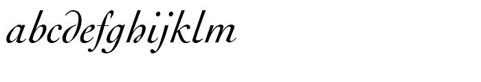 Engravers Oldstyle 205 Italic Font LOWERCASE