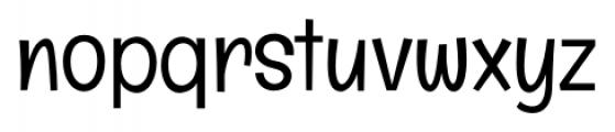 Englebert Pro Regular Font LOWERCASE