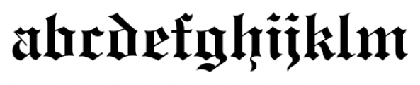 Engravers Old English FS Bold Font LOWERCASE
