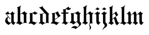 Engravers Old English FS Medium Font LOWERCASE
