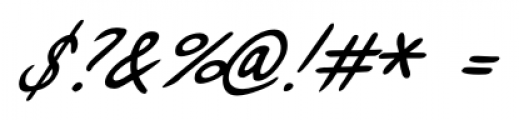 Enrico Handwriting Regular Font OTHER CHARS