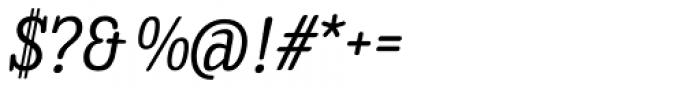Enagol Math Italic Font OTHER CHARS