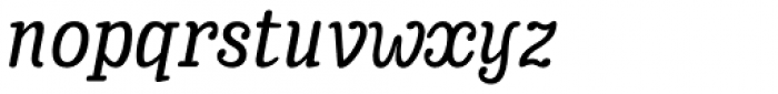 Enagol Math Medium Italic Font LOWERCASE