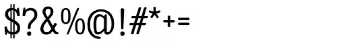 Enagol Math Regular Font OTHER CHARS