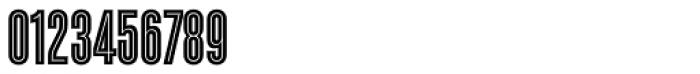 Enamel Inline Font OTHER CHARS