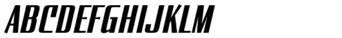 Enamelplate A Font UPPERCASE