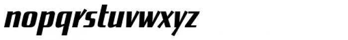 Enamelplate A Font LOWERCASE