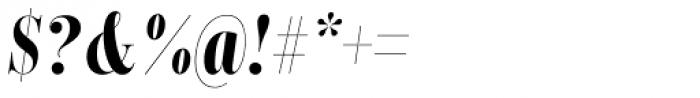 Encorpada Classic Comp Bold Italic Font OTHER CHARS
