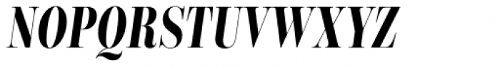 Encorpada Classic Comp Bold Italic Font UPPERCASE
