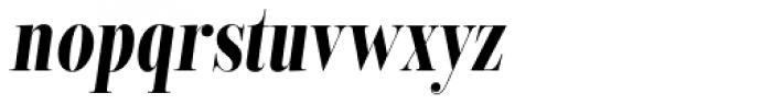 Encorpada Classic Comp Bold Italic Font LOWERCASE