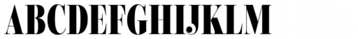 Encorpada Classic Comp ExtraBold Font UPPERCASE