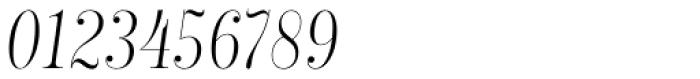Encorpada Classic Comp Light Italic Font OTHER CHARS