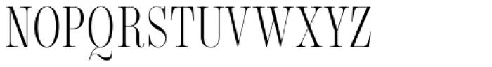Encorpada Classic Comp Light Font UPPERCASE