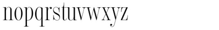 Encorpada Classic Comp Light Font LOWERCASE