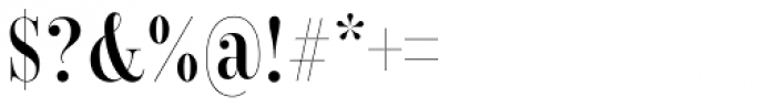 Encorpada Classic Comp SemiBold Font OTHER CHARS