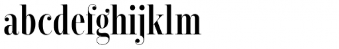 Encorpada Classic Comp SemiBold Font LOWERCASE