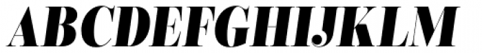 Encorpada Classic Cond ExtraBold Italic Font UPPERCASE