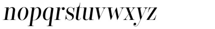 Encorpada Classic Cond Italic Font LOWERCASE