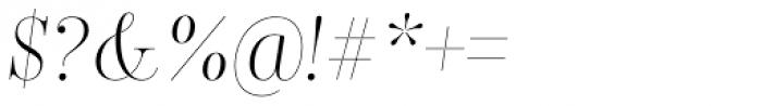 Encorpada Classic Cond Light Italic Font OTHER CHARS