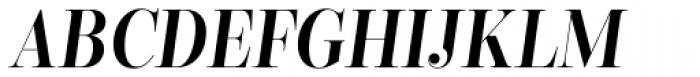 Encorpada Classic Cond SemiBold Italic Font UPPERCASE