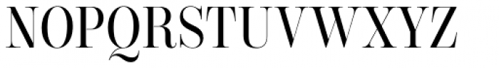 Encorpada Classic Cond Font UPPERCASE