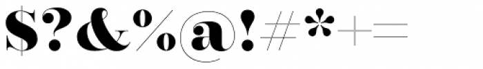 Encorpada Classic ExtraBold Font OTHER CHARS