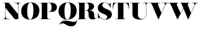 Encorpada Classic ExtraBold Font UPPERCASE