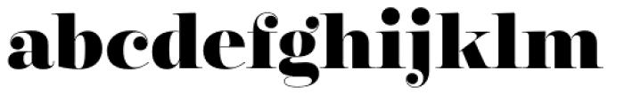 Encorpada Classic ExtraBold Font LOWERCASE