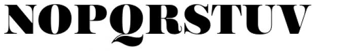 Encorpada Essential Black Font UPPERCASE