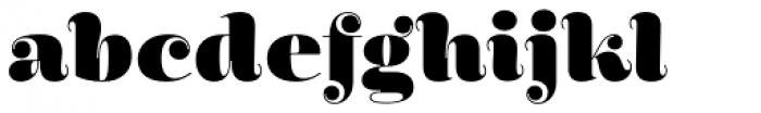 Encorpada Essential Black Font LOWERCASE