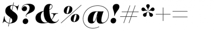Encorpada Essential Extra Bold Italic Font OTHER CHARS
