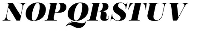 Encorpada Essential Extra Bold Italic Font UPPERCASE