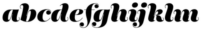 Encorpada Essential Extra Bold Italic Font LOWERCASE