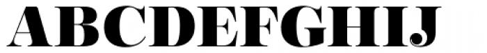 Encorpada Essential Extra Bold Font UPPERCASE