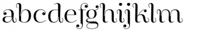 Encorpada Essential Light Font LOWERCASE