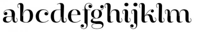 Encorpada Essential Font LOWERCASE