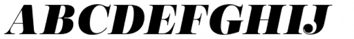 Encorpada Pro Black Italic Font UPPERCASE