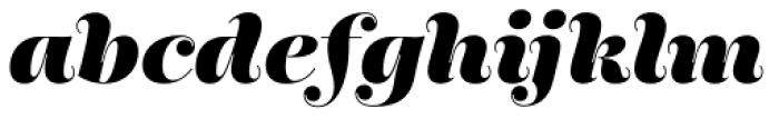 Encorpada Pro ExtraBold Italic Font LOWERCASE