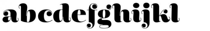 Encorpada Pro ExtraBold Font LOWERCASE