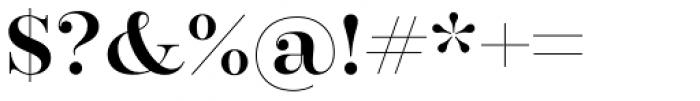 Encorpada Pro SemiBold Font OTHER CHARS