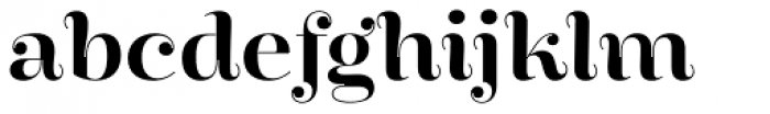 Encorpada Pro SemiBold Font LOWERCASE